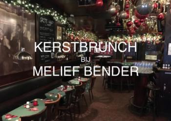 Melief bender het oudste cafe van rotterdam for Kerstbrunch rotterdam